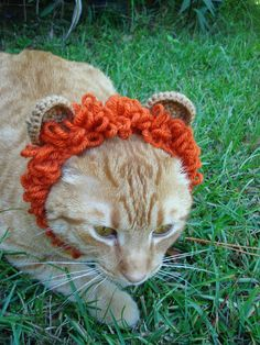 NyanPon's Knits and Crochet: Little Lion