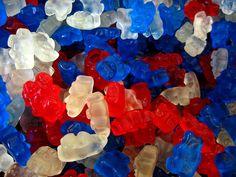 patriotic gummy bears :))