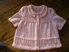Ravelry: Crocus Cardigan pattern by Annie Dempsey