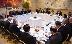 El Canciller Faurie participó de un desayuno de trabajo MERCOSUR – UE.
