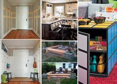Remodeling is a great way to make you realize your dream home without investing a lot of money. It is also a wise way to add value to your house, if you plan to sell it in the future. Some remodeling projects are quite easy. Home Renovation, Home Remodeling, Dream House Interior, Home Projects, Craft Projects, House Plans, Home Improvement, New Homes, House Design