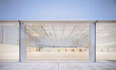 Gallery of Multi-Sport Pavilion and Classroom Complex / Alberto Campo Baeza - 13