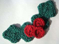 Holly Berry Applique