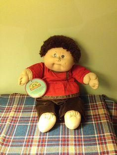 Vintage Cabbage Patch kids world traveler doll by TheShabbyPunk