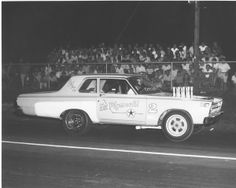 """Mr Plymouth Mopar A/FX - altered wheelbase - Factory Experimental - these cars were the forerunners of """"Funny Cars"""""""