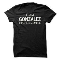 Team Gonzalez - #team shirt #hoodie tutorial. LIMITED TIME PRICE => https://www.sunfrog.com/Names/Team-Gonzalez-jflvr.html?68278
