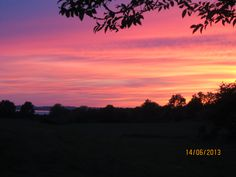 Sonnenuntergang Schwedeneck