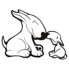 #Bullies bull terrier #dogs