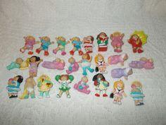 Vintage 1984 Cabbage Patch Kids Pvc Mini Figures Lot Of 25 Cabbagepatchkids Cabbage Patch Kids Cabbage Patch Mini Figures