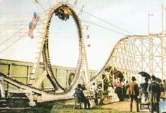 Who would try out this scary looping coaster?