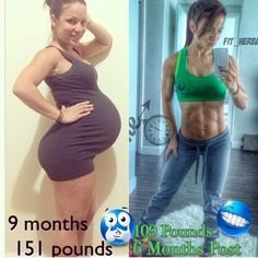 @mini_beast24: I can't get over this! My sponsor results after giving birth! Tell me again that Herbalife doesn't work? Herbalife + a me...