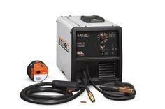 The Hobart 500549 Auto Arc 130 Wire Feed MIG Welder is 115Volt electric machine and it welds with gas and without gas. Welder comes with sample spool of Flux core wire and 3 replacement contact tips.