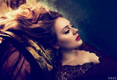 Adele is shutting it down in Vogue. Stunning photo's!