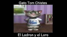 Gato Tom Chistes - El Ladron y el Loro