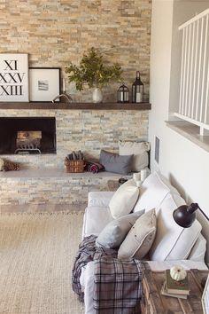Kivik sofa- white linen slipcover The Big Living Room Reveal! | Jenna Sue Design Blog