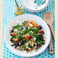 Quinoa, Beetroot, Squash and Feta Salad