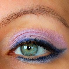 Like the eyeliner and that eyeshadow color isn't bad, either...