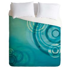 Stacey Schultz Circle World Blue Duvet Cover | DENY Designs Home Accessories