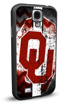 Oklahoma Sooners Cell Phone Hard Protection Case for Samsung Galaxy S5, Samsung Galaxy S4 or Samsung Galaxy S4 Mini