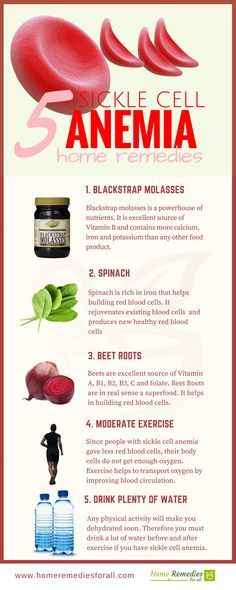 Treat your sickle cell anemia with these simple but effective home remedies and get back your lost energy.