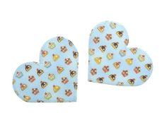 Applikation Herz Muffins Bügelbild Aufnäher Patch von Silwarin - Hosenflicken, Aufnäher & mehr auf DaWanda.com