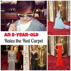 Oscar® Red Carpet Looks Judged by an 8-Year-Old