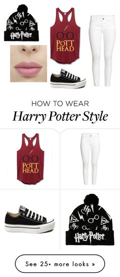 """Untitled #898"" by princessrobinel on Polyvore featuring H&M and Converse"