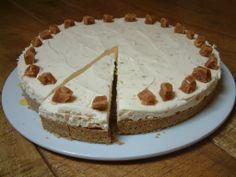 Orkney Fudge Cheesecake made in our Real Food Cafe