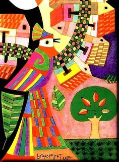 Arte Elemental, Arte Latina, House Quilt Patterns, Spanish Art, School Decorations, Naive Art, Elementary Art, American Artists, Art Lessons
