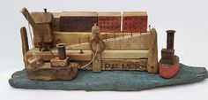 Coming into Dock by AmongstThePebbles on Etsy