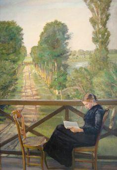 pintura de Christian Krohg
