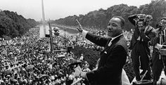 """On this day, #MLK delivered his """"I Have a Dream"""" speech. The March was later credited with helping to achieve passage of the 1964 Civil Rights Act and the 1965 Voting Rights Act. #civilrights #ihaveadream"""