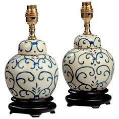 pair of ginger jar lamps - Ginger Jar Lamps