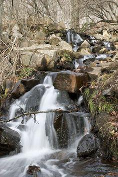 Riu a Santa fe del Montseny Catalonia