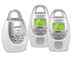 Excellent for straight audio monitor. VTech Safe & Sound Digital Audio Baby Monitor with Two Parent Units Vtech Baby, Talking Back, Best Appliances, Baby Monitor, Baby Health, Digital Audio, Baby Safety, Kids Safety, Baby Needs