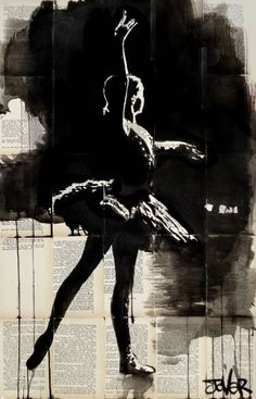 "Saatchi Art Artist Loui Jover; Drawing, ""cygnet"" #art"