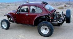 It may not be your typical OHV of choice, but the classic off-road scene would not be the same without the Baja Bug. Check out this unique off-road machine inside! Car Volkswagen, Vw Cars, Vw Baja Bug, Bug Off, Sand Rail, Off Road Racing, Ferdinand Porsche, Vintage Race Car, Vw Beetles