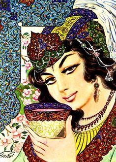 Persian Arts - Asar Gallery of Art http://www.persianpaintings.com