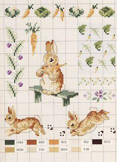 Lovely heart things: Cross Stitch: Le monde de Beatrix Potter by Veronique Enginger (scheme)