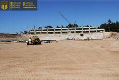 #EstadioCAP   Postales de las obras de construcción del Estadio de Peñarol   10 meses en obra http://www.estadiocap.com.uy