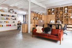 Olafur Eliasson's Office & Studio in Prenzlauer Berg, Berlin | http://www.yellowtrace.com.au/studio-olafur-eliasson-berlin/