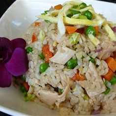 Chinese Chicken Fried Rice | This 15-minute fried rice is a tasty use for leftover chicken.