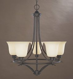 Get it now Designers Fountain 96985-ORB Montego 5-Light Chandelier, Oil Rubbed Bronze