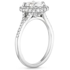 Design your own engagement ring online! Browse our wide selection of beyond conflict free diamonds and designer engagement ring styles. Double Halo Engagement Ring, Engagement Ring Settings, Engagement Rings, Bridal Ring Sets, Bridal Rings, Round Diamond Ring, Round Diamonds, Eternity Ring, Fashion Rings