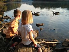 ...we must pass on to our children the joy and value of playing outside in nature...
