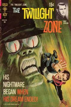 """The Twilight Zone, """"His Nightmare Began When His Dream Ended..."""