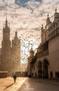 Kraków, Poland by Made in Krakow World Cities, Best Cities, Dance Aesthetic, Visit Poland, Poland Travel, Krakow Poland, Travel Photos, Travel Destinations, Wanderlust
