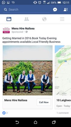 Mens wedding hire. Of no interest as not getting married or even engaged