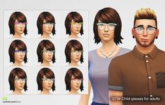 Lumia Lover Sims: Cute hipster glasses • Sims 4 Downloads