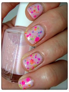 Nail Call: Essie Pink a Boo With Lush Lacquer Clowning Around